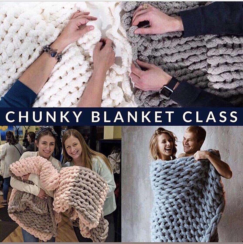 chunky blanket class image-1